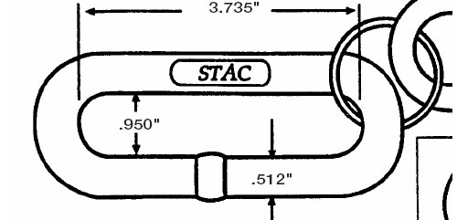 STAC Chain Dimensions